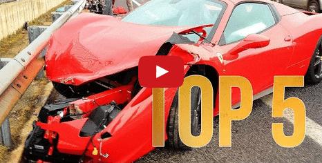 Choques de autos lujosos