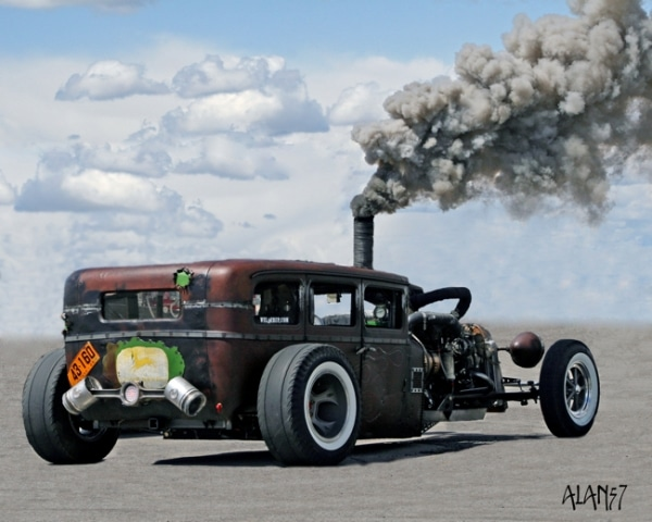 Un Rat Rod en Latinoamérica